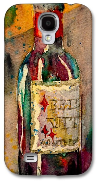 Italian Wine Paintings Galaxy S4 Cases - Bella Vita Galaxy S4 Case by Beverley Harper Tinsley
