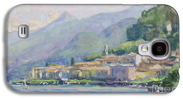 Lake Como Paintings Galaxy S4 Cases - Bellagio Serenade Galaxy S4 Case by Jerry Fresia