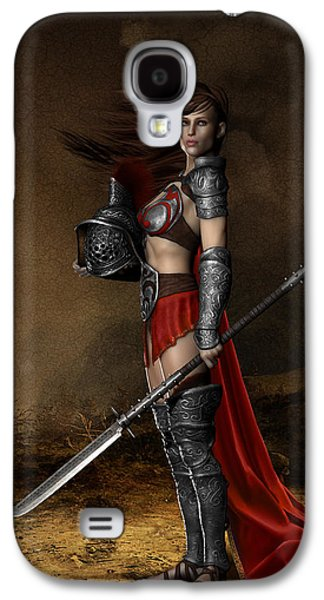Armor Galaxy S4 Cases - Bellona Goddess of War Galaxy S4 Case by Shanina Conway