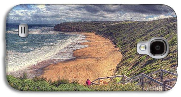 Beach Landscape Galaxy S4 Cases - Bells Beach Galaxy S4 Case by Alan  Reid