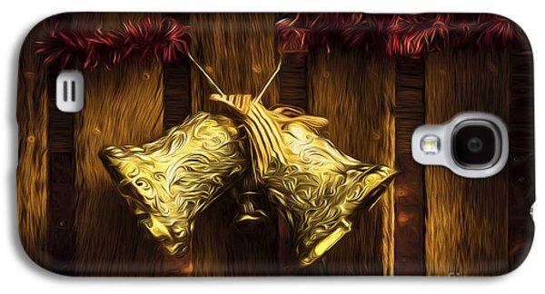 Bells Of Christmas Joy Galaxy S4 Case by Jorgo Photography - Wall Art Gallery