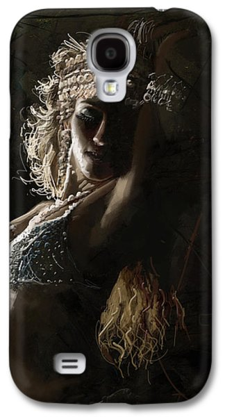 Moroccan Galaxy S4 Cases - Belly Dancer 8  Galaxy S4 Case by Corporate Art Task Force