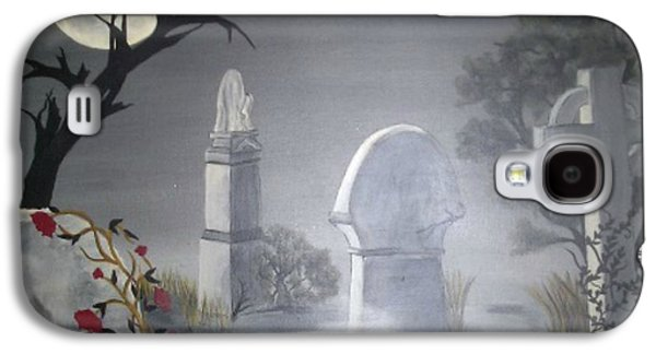 Headstones Paintings Galaxy S4 Cases - Beloved Galaxy S4 Case by Ann LaMar
