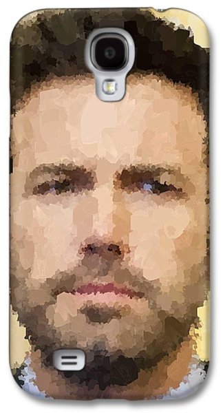Ben Affleck Portrait Galaxy S4 Case by Samuel Majcen