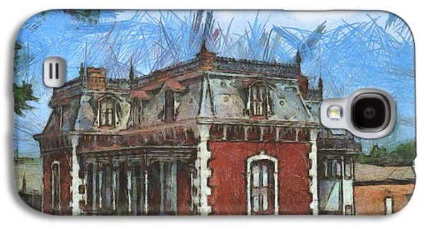 Historic Site Drawings Galaxy S4 Cases - Ben Ferrel Museum  Galaxy S4 Case by Liane Wright