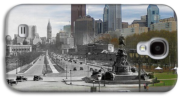 Ben Franklin Parkway Galaxy S4 Case by Eric Nagy