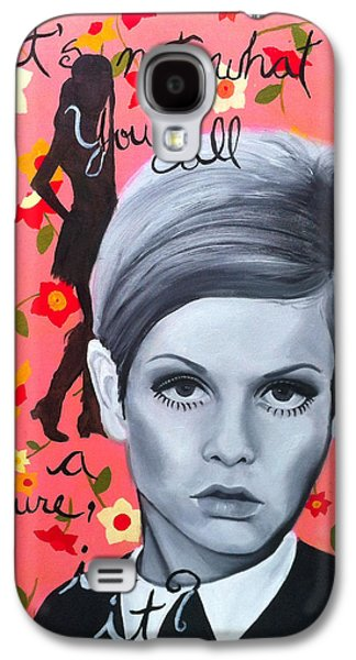Twiggy Galaxy S4 Cases - Benchmark of Beauty III Galaxy S4 Case by Nique Arr