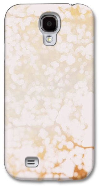 Nature Abstracts Galaxy S4 Cases - Beneath a tree 14 4948 triptych set 1 of 3 Galaxy S4 Case by Ulrich Schade