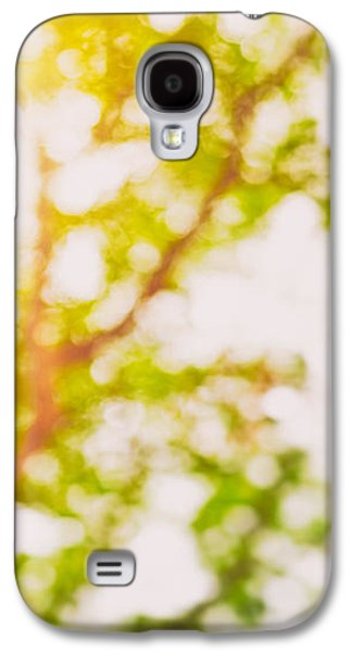 Abstract Landscape Galaxy S4 Cases - Beneath a tree  14 5194  Diptych  Set 2 of 2 Galaxy S4 Case by Ulrich Schade