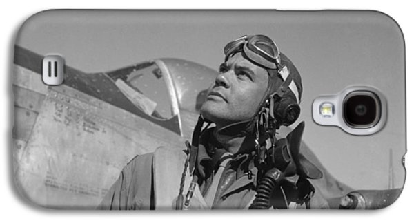 African-american Galaxy S4 Cases - Benjamin Davis WW2 Tuskegee Airmen Galaxy S4 Case by War Is Hell Store