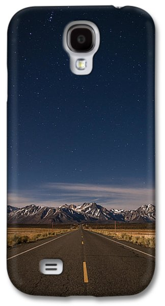 Mountain Road Galaxy S4 Cases - Benton Crossing Rd. Galaxy S4 Case by Cat Connor