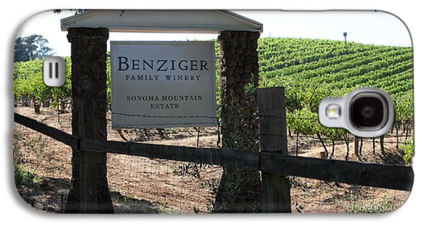 Pastoral Vineyard Photographs Galaxy S4 Cases - Benziger Winery In The Sonoma California Wine Country 5D24593 Galaxy S4 Case by Wingsdomain Art and Photography