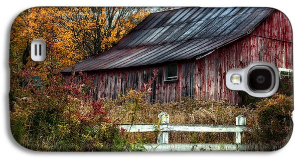 Outbuildings Galaxy S4 Cases - Berkshire Autumn - Old Barn Series   Galaxy S4 Case by Thomas Schoeller