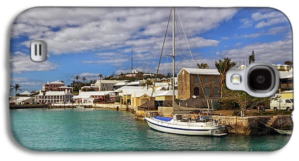 Boat Galaxy S4 Cases - Bermuda St George Harbour Galaxy S4 Case by Charline Xia