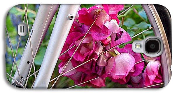 Bespoke Flower Arrangement Galaxy S4 Case by Rona Black