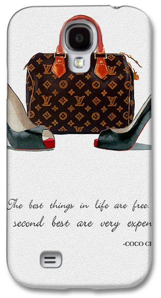 Free Mixed Media Galaxy S4 Cases - Best Things In Life 2nd Edition Galaxy S4 Case by Rebecca Jenkins