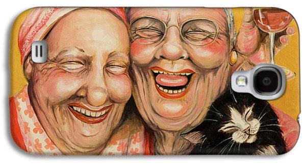 Best Friends Galaxy S4 Cases - Bestest Friends Galaxy S4 Case by Shelly Wilkerson