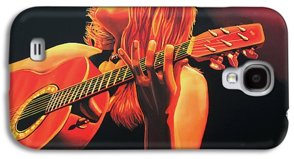 Slash Galaxy S4 Cases - Beth Hart  Galaxy S4 Case by Paul  Meijering
