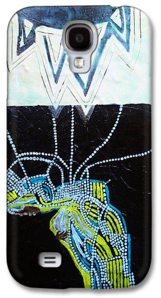 Nativity Ceramics Galaxy S4 Cases - Bethlehem and Mary Galaxy S4 Case by Gloria Ssali