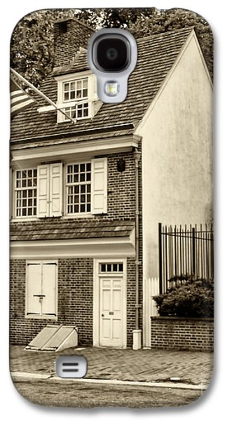 Betsy Galaxy S4 Cases - Betsy Ross House Galaxy S4 Case by Jack Paolini