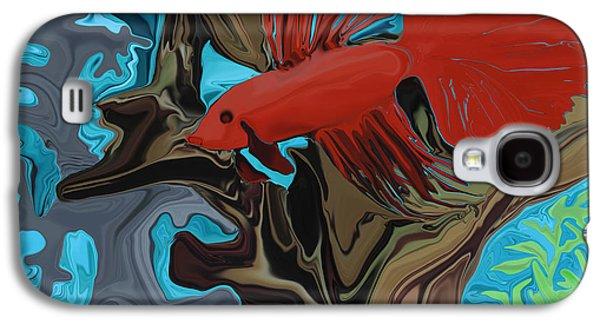 Betta Galaxy S4 Cases - Bettas Band Galaxy S4 Case by Sherin  Hylan