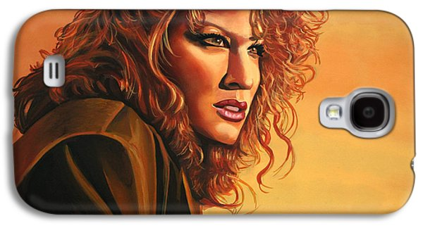 Vocal Galaxy S4 Cases - Bette Midler Galaxy S4 Case by Paul  Meijering