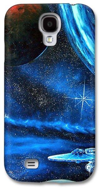 Between Alien Worlds Galaxy S4 Case by Murphy Elliott