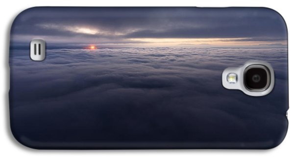 Southern Utah Galaxy S4 Cases - Between the Clouds Galaxy S4 Case by Dustin  LeFevre