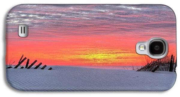 Florida Panhandle Galaxy S4 Cases - Between the Fence Galaxy S4 Case by JC Findley