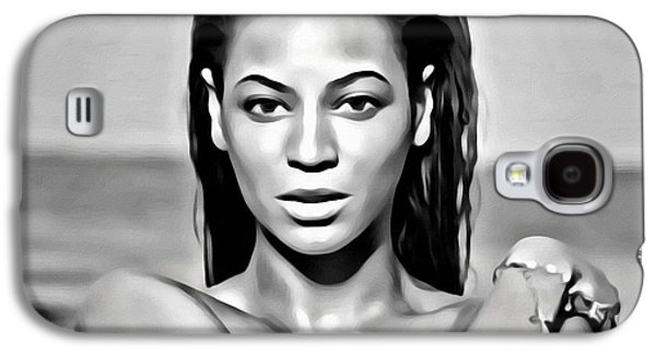 Jay Z Galaxy S4 Cases - Beyonce Galaxy S4 Case by Florian Rodarte