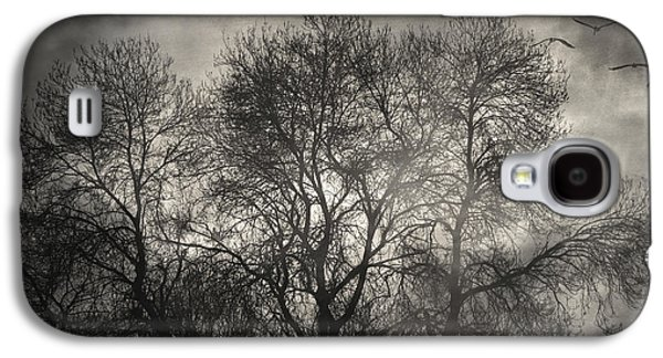Creepy Galaxy S4 Cases - Beyond the Morning Galaxy S4 Case by Taylan Soyturk