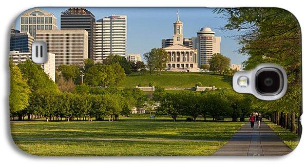 Family Walks Galaxy S4 Cases - Bicentennial Park Nashville Galaxy S4 Case by Brian Jannsen