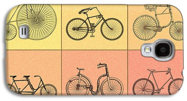 Bicycle Photographs Galaxy S4 Cases - Bicycles of the 19th Century Galaxy S4 Case by Mark Rogan