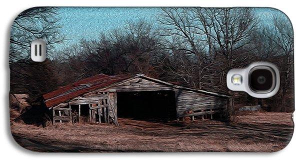 R. Mclellan Photography Galaxy S4 Cases - Big Barn Theory Galaxy S4 Case by R McLellan