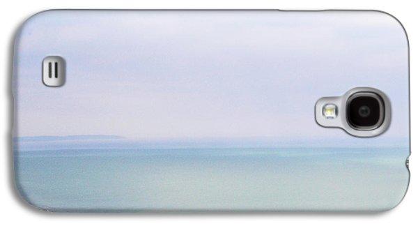 Landmarks Photographs Galaxy S4 Cases - Big Beachy Head Sky Galaxy S4 Case by Connie Handscomb