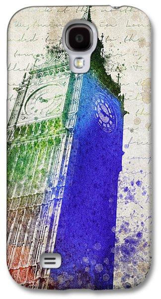 Big Ben Galaxy S4 Case by Aged Pixel