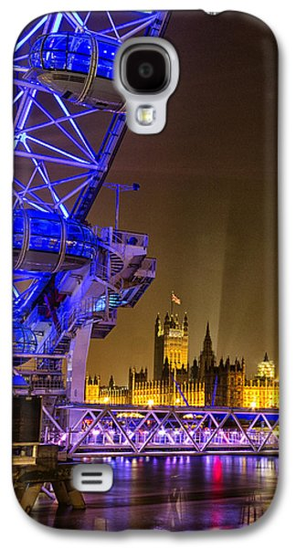 Big Ben And The London Eye Galaxy S4 Case by Ian Hufton