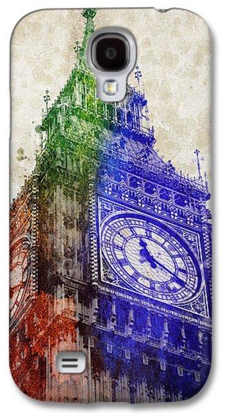 Big Ben London Galaxy S4 Case by Aged Pixel
