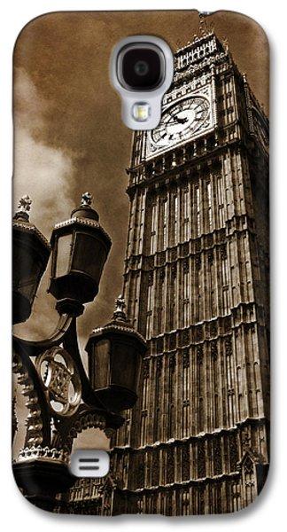 Landmarks Photographs Galaxy S4 Cases - Big Ben Galaxy S4 Case by Mark Rogan