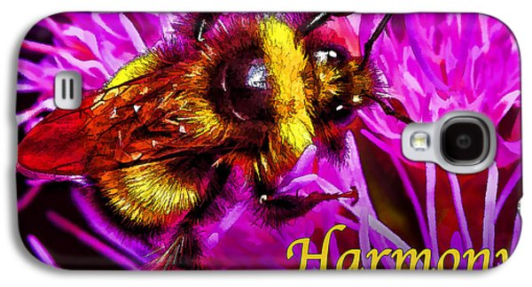 Photo Manipulation Galaxy S4 Cases - Big Busy Bumble - Harmony Galaxy S4 Case by Bill Caldwell -        ABeautifulSky Photography
