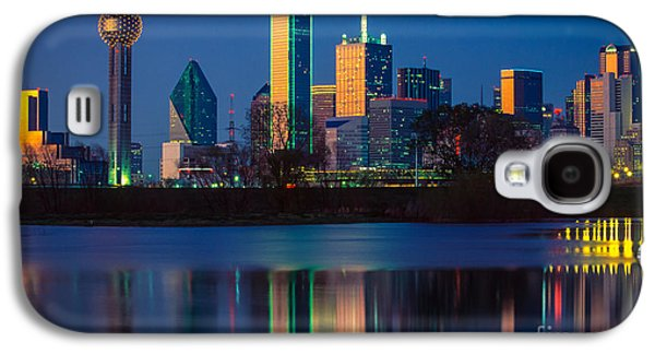 Big D Reflection Galaxy S4 Case by Inge Johnsson