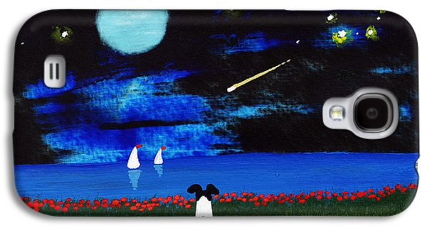 Constellations Paintings Galaxy S4 Cases - Big Dipper Galaxy S4 Case by Todd Young