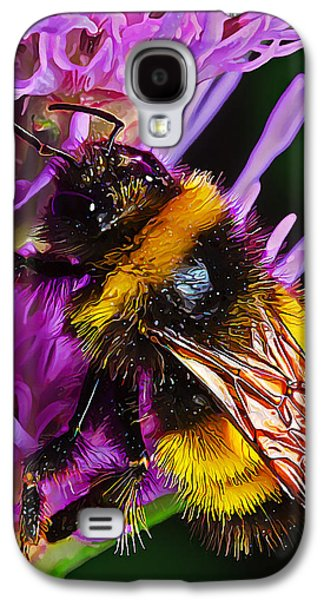 Digitally Manipulated Galaxy S4 Cases - Big Dusty Bumble Galaxy S4 Case by Bill Caldwell -        ABeautifulSky Photography