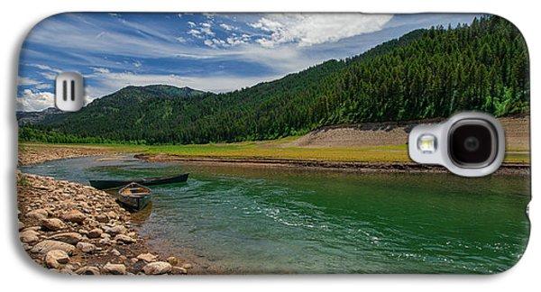 Idaho Photographs Galaxy S4 Cases - Big Elk Creek Galaxy S4 Case by Chad Dutson