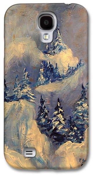 Winter Wonderland Galaxy S4 Cases - Big Horn Peak Galaxy S4 Case by Patricia Brintle