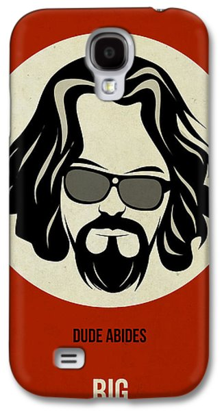 Tv Galaxy S4 Cases - Big Lebowski Poster Galaxy S4 Case by Naxart Studio