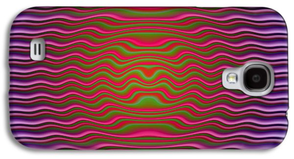 Op Art Photographs Galaxy S4 Cases - Big O Galaxy S4 Case by WB Johnston