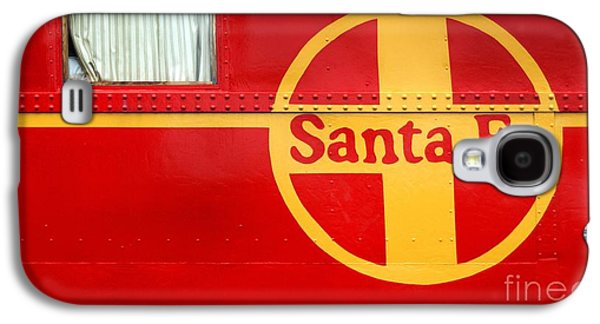Caboose Photographs Galaxy S4 Cases - Big Red Santa Fe Caboose Galaxy S4 Case by Paul W Faust -  Impressions of Light