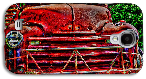Big Red  Galaxy S4 Case by Toni Hopper