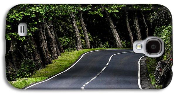 Edgar Laureano Photographs Galaxy S4 Cases - Big  road Galaxy S4 Case by Edgar Laureano